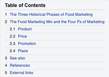History of Food Production