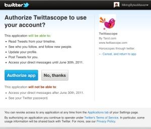 Twittascope
