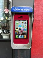 iPhone kiosk