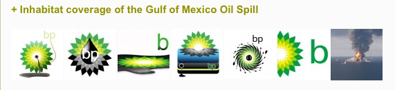 BP logo redesign contest after the oil spill in the Gulf of Mexico