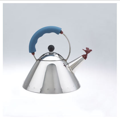 Michael Graves, teakettle by Alessi for Target