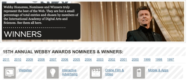 WebbyAwards.com