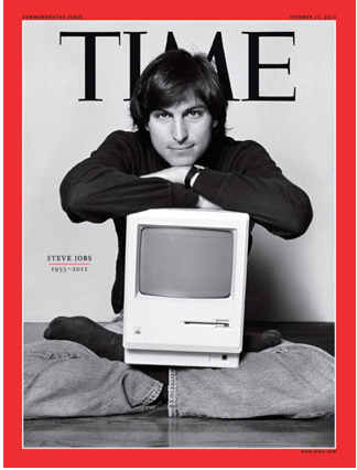 Steve Jobs on the Cover of TIME © Cult of Mac