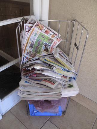 Newspaper ads © Marketing Bytes