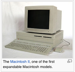 The Macintosh II © Wikipedia