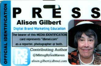 Alison Gilbert's DBME press pass