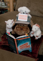 Inbound Boomer and friends reading the book, Inbound Marketing