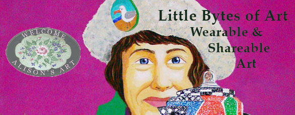 The cover for LIttle Bytes of Art on my facebook page.