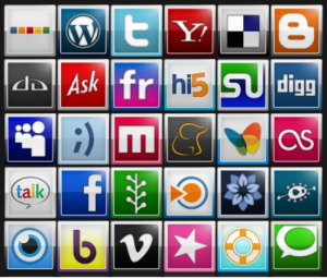 social media icons © iniwoo.net