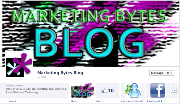The brand for the Marketing Bytes Blog