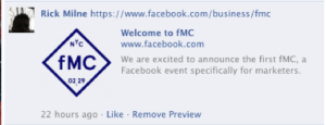 The first facebook conference for Marketers 2.29.2012