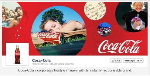 The CocaCola cover page