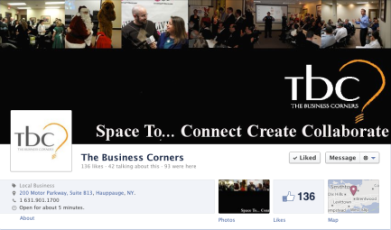 The Business Corners facebook page cover