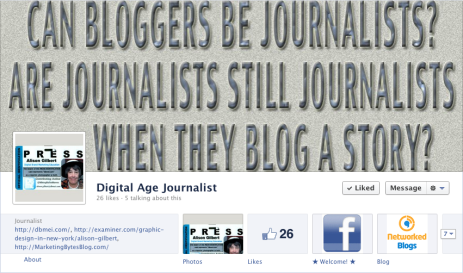 Can Bloggers be Journalists?