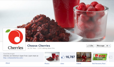 ChooseCherries facebook page