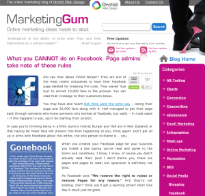 MarketingGum Blog Post